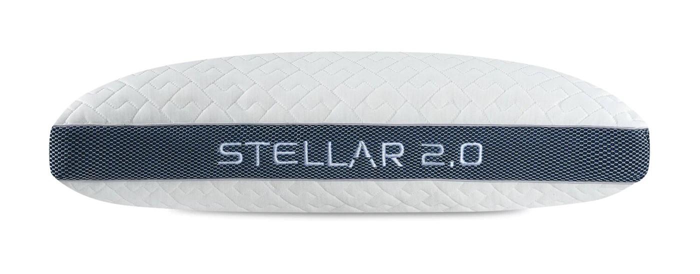 bedgear stellar 2 0 pillow back sleeper