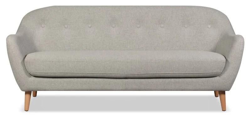 cheap sofa sets under 400 polaris sofas the brick calla linen look fabric light grey en tissu d