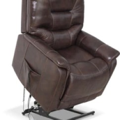 Lift Chairs Edmonton Ab Pool Lounge Costco The Brick Parker Genuine Leather Power Lifting Recliner Brown