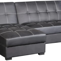 Black Sofa Beds For Sale Leather Living Room Sets And Futons The Brick Belize 2 Piece Storage Futon With Chaise Lit De Rangement