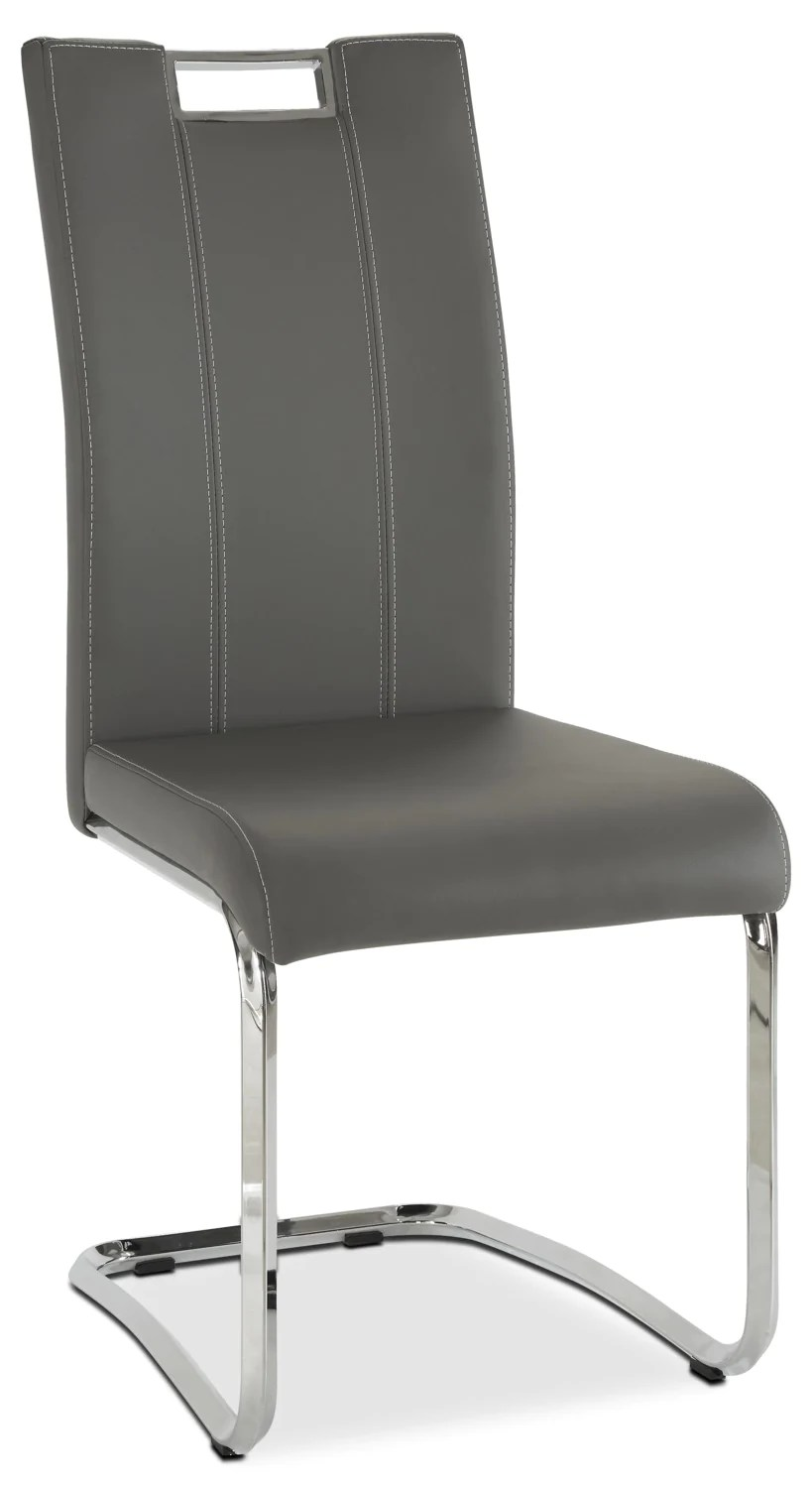 Will Chair Tuxedo Dining Chair Grey
