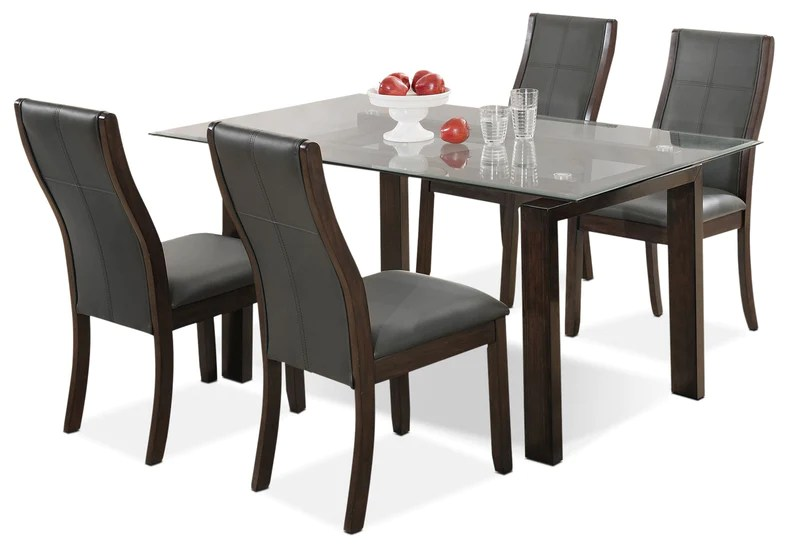 kitchen dining tables rental nyc sets the brick tyler 5 piece package ensemble de salle a manger pieces