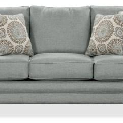Size Of A Living Room Light Ideas Tula Fabric Queen Sofa Bed Mist The Brick Mistgrand Lit En Tissu Chenille Brume