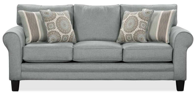 queen bed sofa 3 piece slipcovers for sofas with t cushions beds and futons the brick tula fabric size mist grand lit en tissu