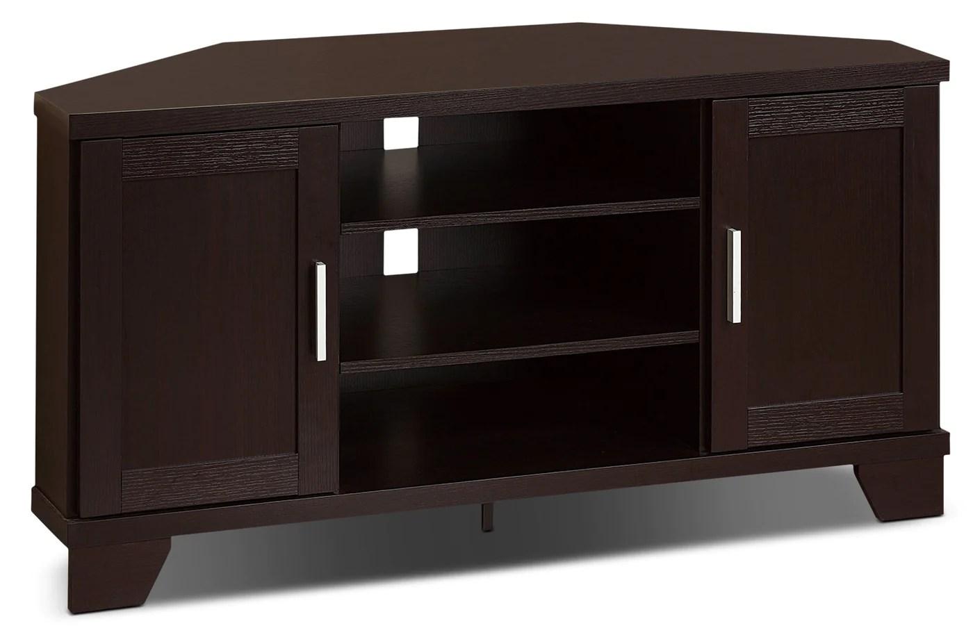 meuble en coin pour televiseur bailey de 47 po