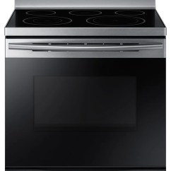 Kitchen Ovens Metal Cabinets Ikea The Brick Samsung 5 9 Cu Ft Freestanding Electric Convection Range Ne59m4320ss Ac Cuisiniere