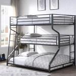 Tripley Iii Twin Full Queen Bunk Bed Gunmetal Furniture Ca