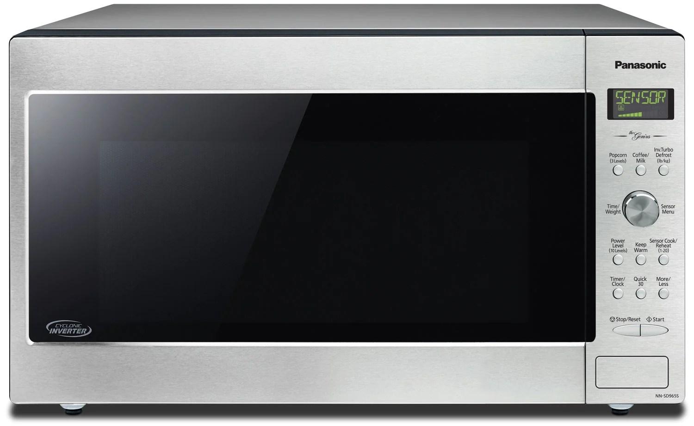 panasonic 2 2 cu ft digital countertop microwave stainless steel