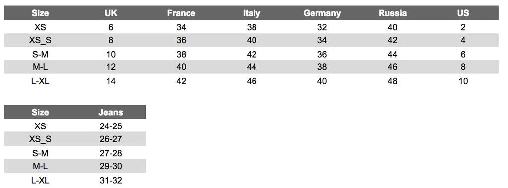 Rinascimento size chart also charts aubenord clothing and shoe sizes rh