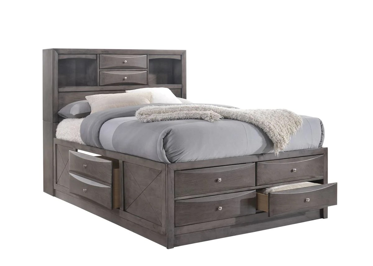 Full Storage Bed E E Fu Bunks And Beds