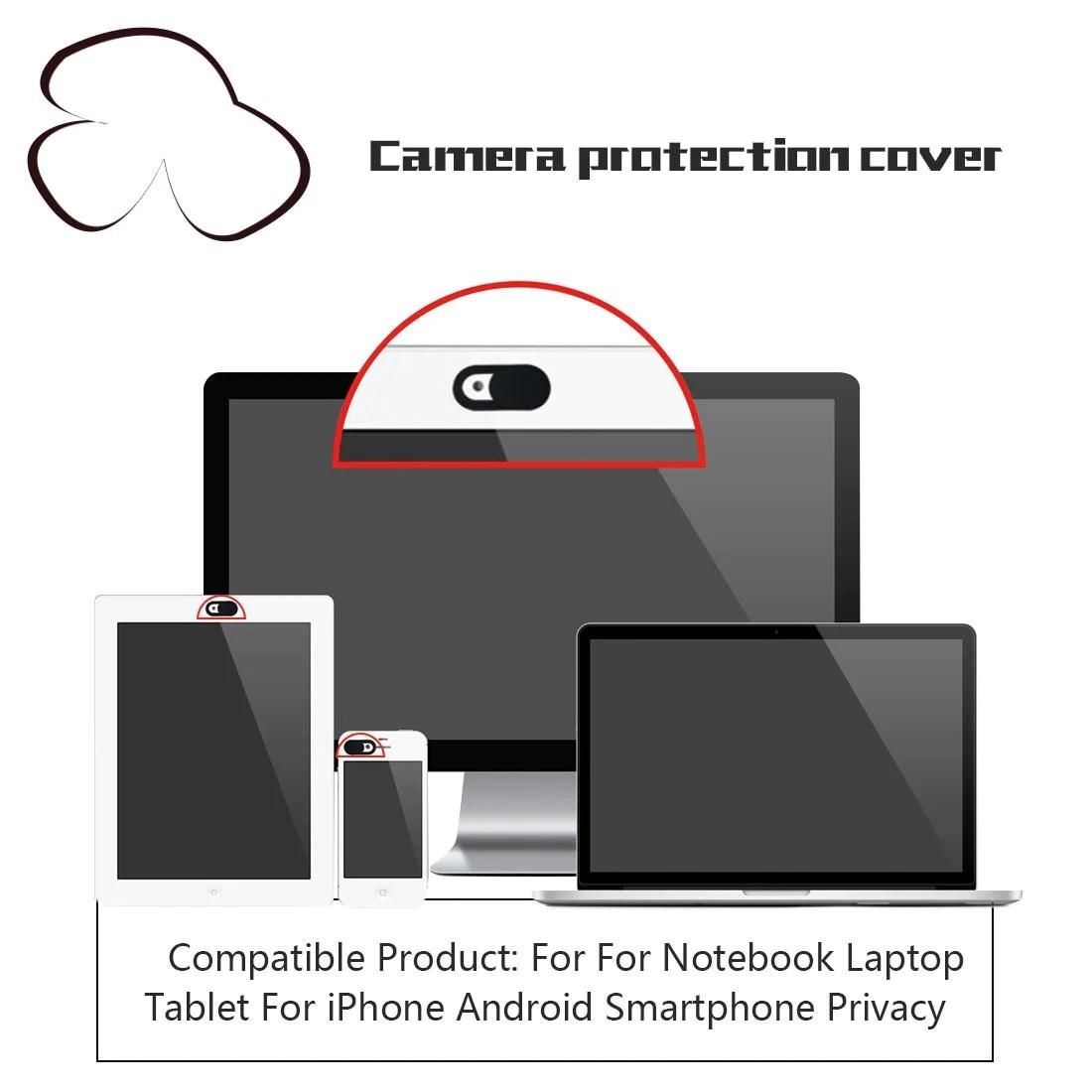 hight resolution of webcam cover shutter magnet slider phone laptop tecpek