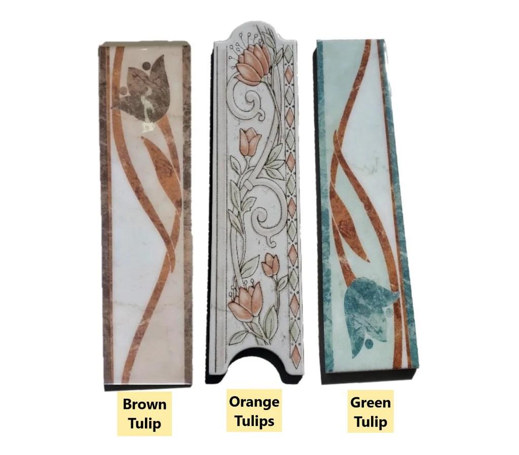 decorative ceramic tile trim 2 5 x10