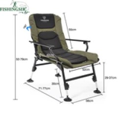 Fishing Chair With Adjustable Legs Rustic Ladder Back Ultimate Outdoor Folding Breathable Picnic Beach Garden Camping Summer Bags