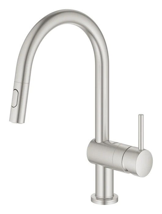 grohe minta touch single handle kitchen faucet