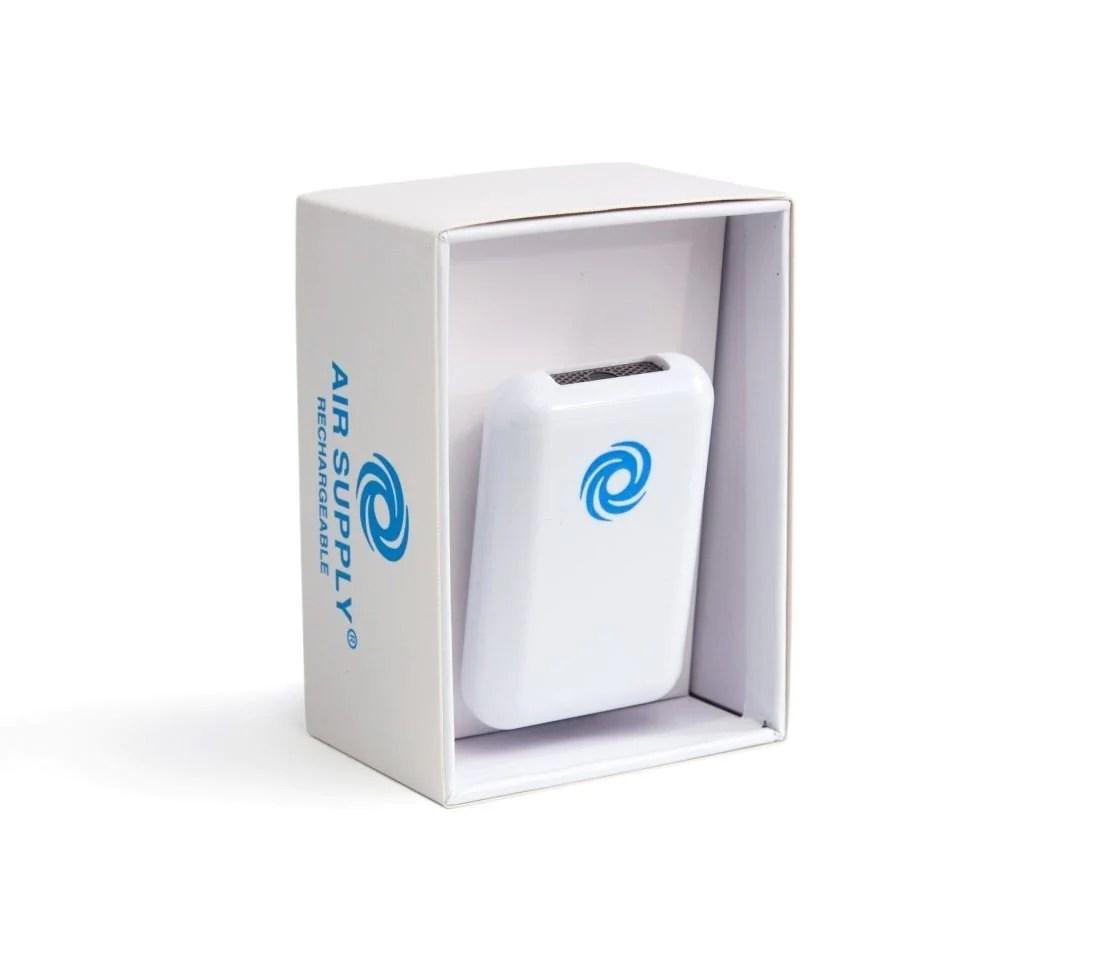 [美國品牌] 穿戴式便攜負離子空氣淨化器 Air Supply® AS300R Personal Ionic Air Purifier – UNWIRE STORE