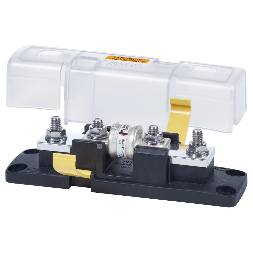 hight resolution of blue sea 110 200a class t fuse block w cover
