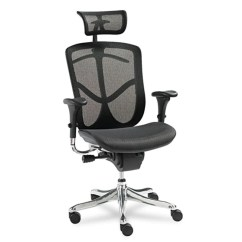 Office Chair With Headrest Alps Camp Eq Ergonomic Multifunction High Back Mesh