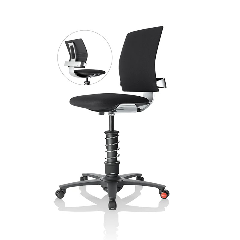 microfiber office chair hanging gumtree sydney 3dee active ultimate w aluminum frame spring seat