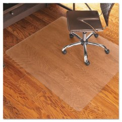 Clear Chair Mat Conant Ball Chairs Cleated Low Pile Carpet Ultimate Office Everlife For Hard Floors