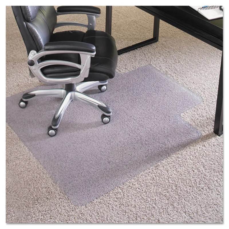 clear chair mat baby bamboo singapore everlife plush pile carpet ultimate office for