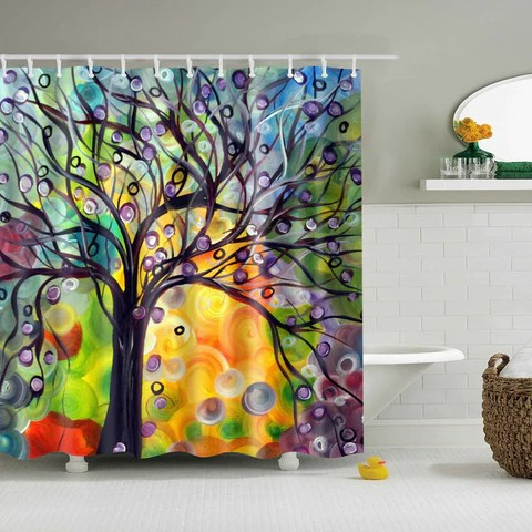 tree shower curtains gojeek