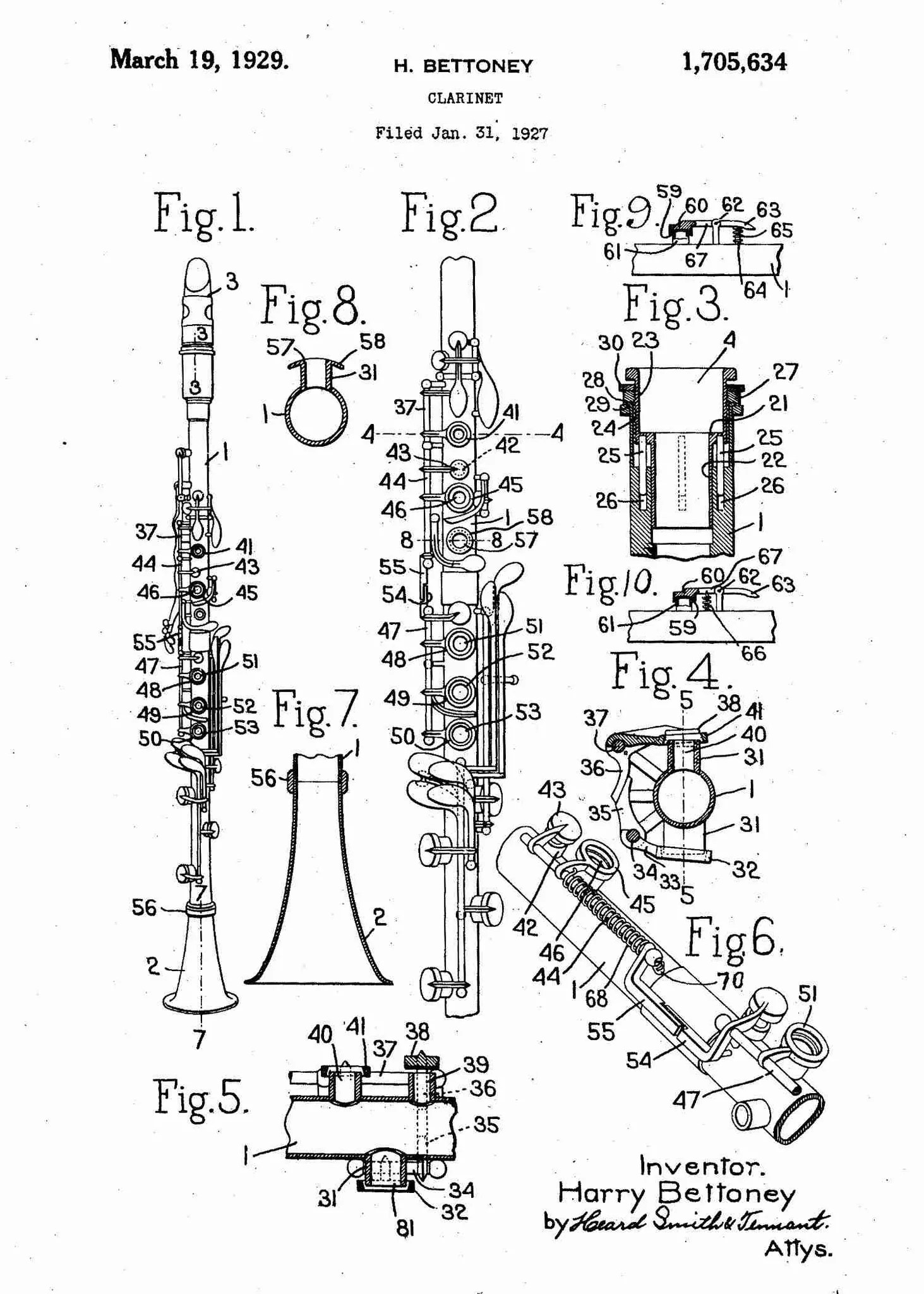medium resolution of  clarinet patent print clarinet poster shown in the style white