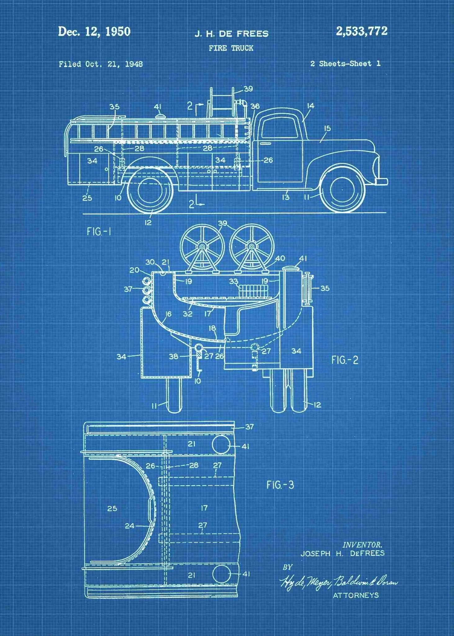 medium resolution of  fire truck patent print fire truck poster shown in the style blueprint