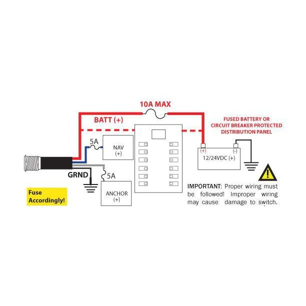 cx lighting control panel wiring diagram heater element marine switches plashlights mini led nav anchor switch 2 channel