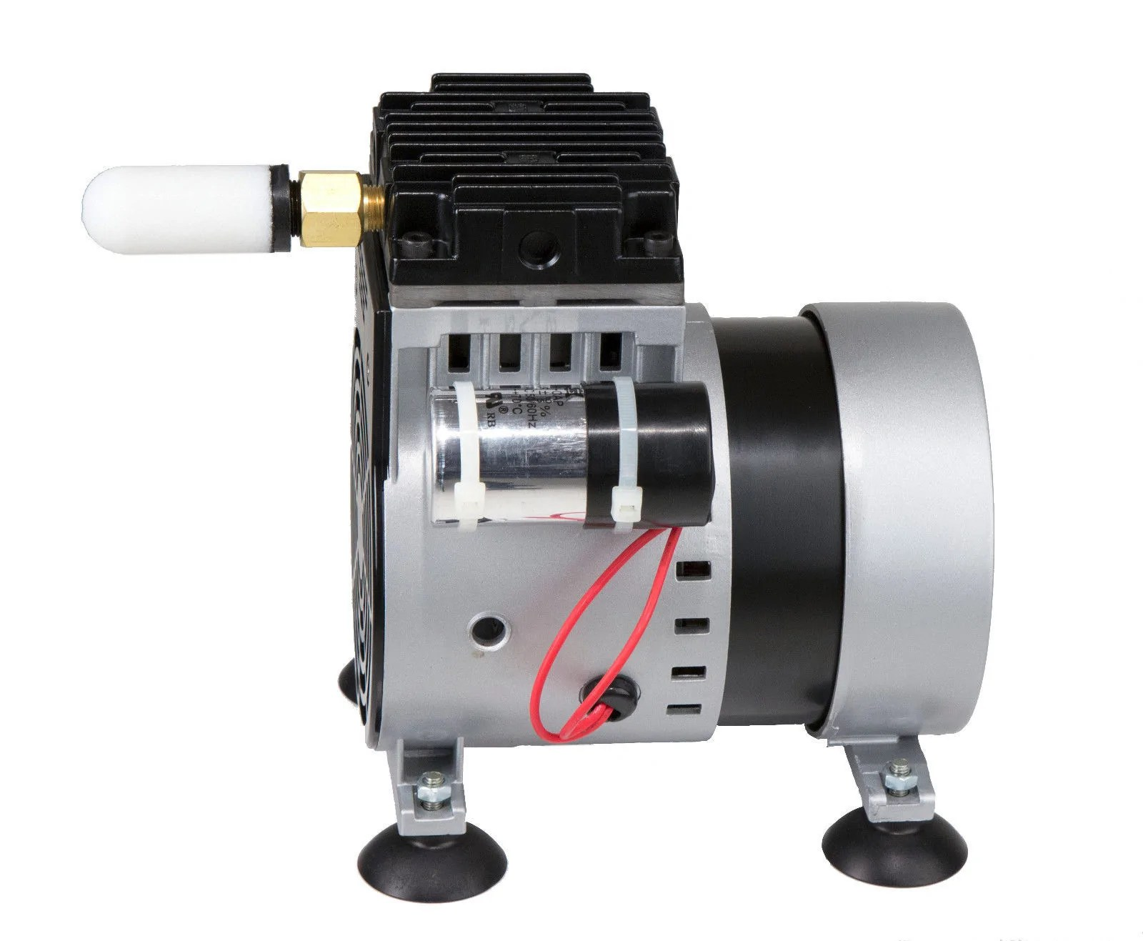 small resolution of  easypro 1 4 hp rocking piston pond aerator air compressor erp25