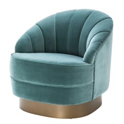 Turquoise Lounge Chair Office Kl Eichholtz Hadley Luxury Furniture Europe