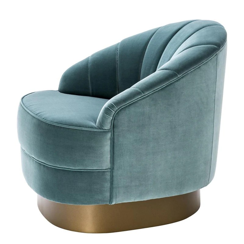 turquoise lounge chair ivory satin covers eichholtz hadley luxury furniture europe furnitures