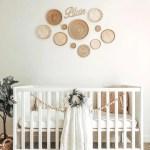 Olive Iris Wall Basket Irl Nursery Room