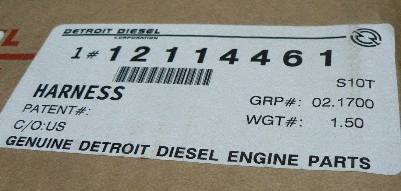 hight resolution of genuine detroit diesel wiring harness dde 23532060 detroit 60 series 14l