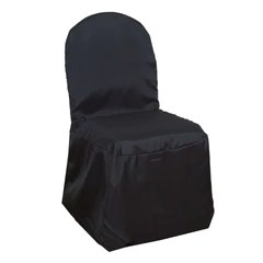 party chair covers canada office cushion for back pain chaircoverfactory quick view wholesale black polyester banquet wedding event