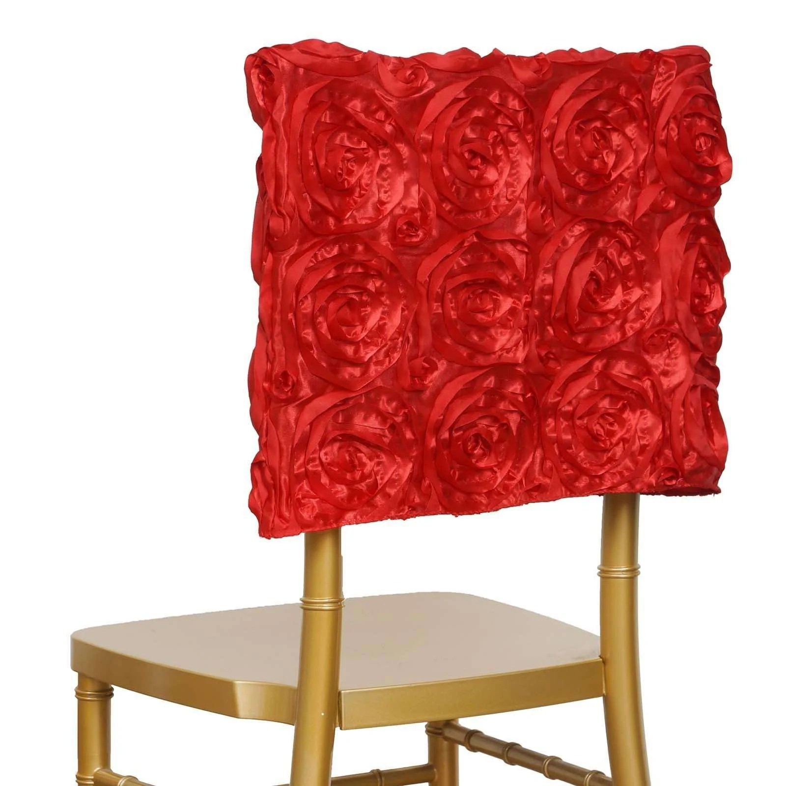 chiavari chair covers ebay pottery barn anywhere cover only 25 grandiose rosette cap wedding reception