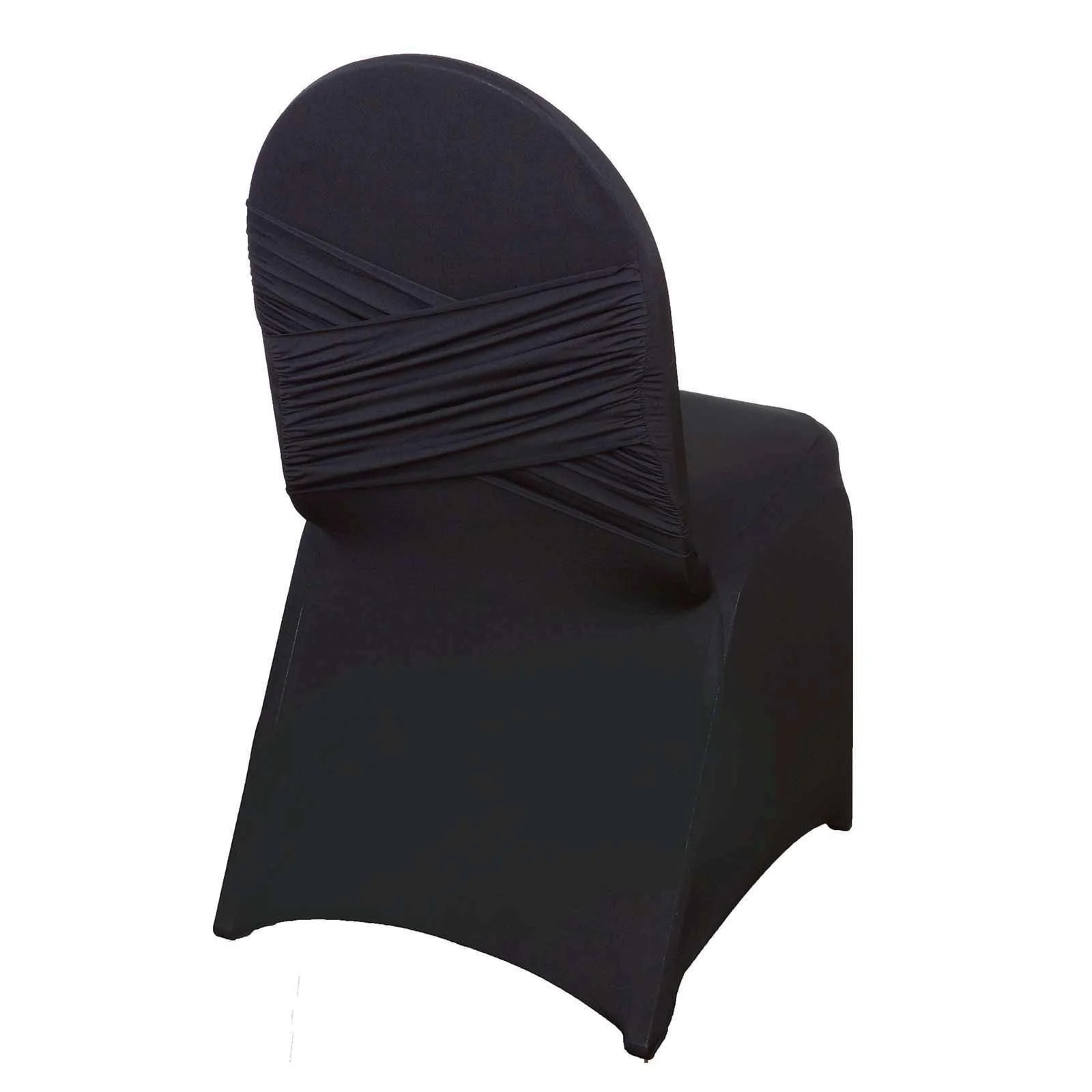cotton wedding chair covers to buy baby high chairs australia premium black madrid spandex banquet for