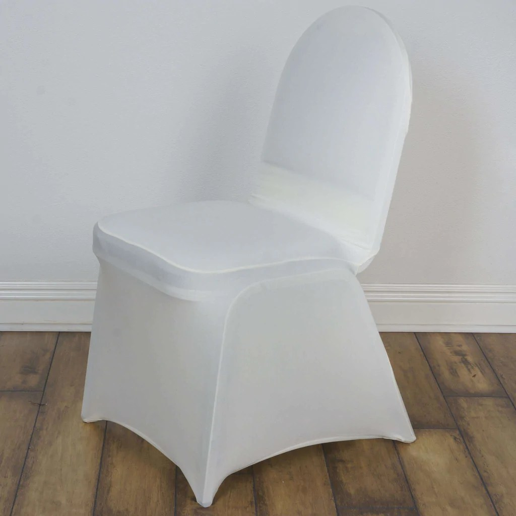 wedding chair covers pinterest for rent premium ivory madrid spandex banquet