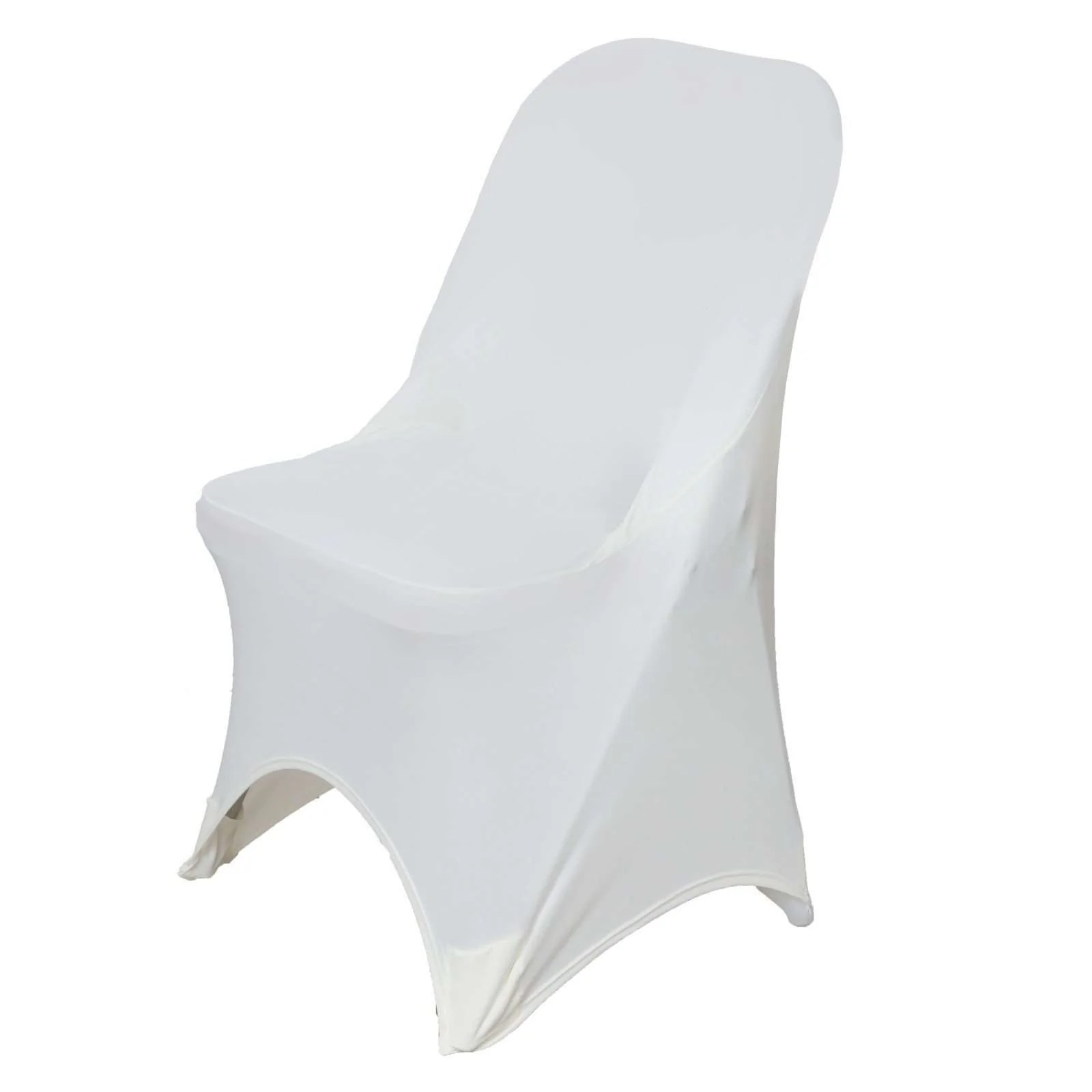 wholesale folding chair covers for sale comfy arm ivory spandex stretch cover wedding party