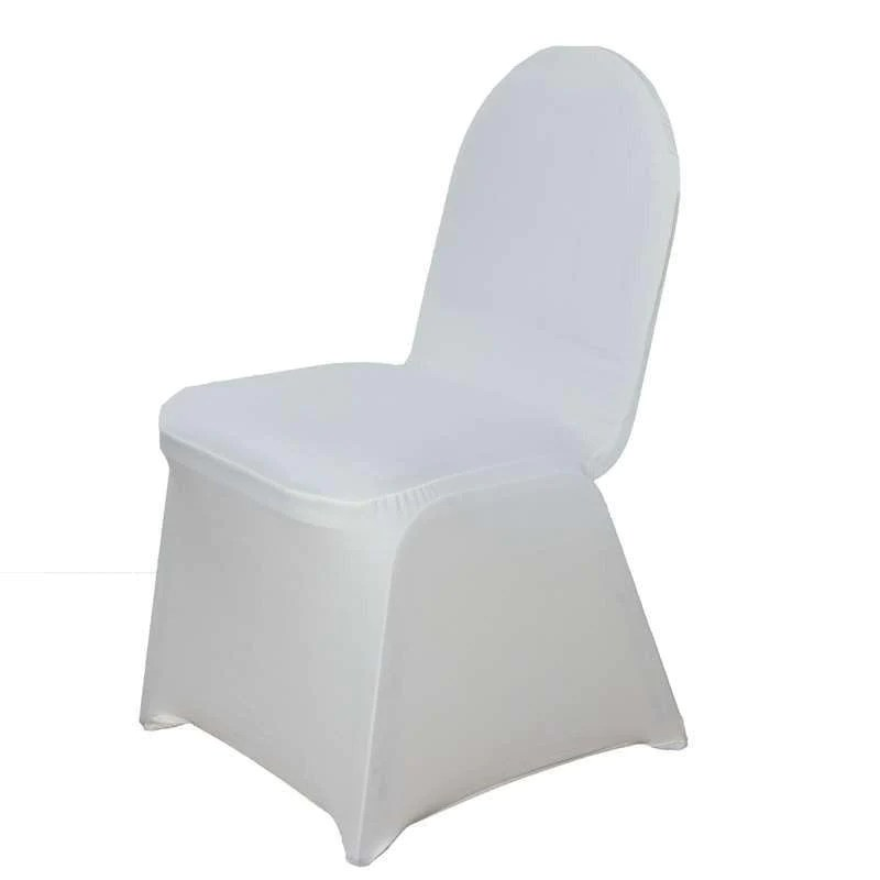 gray chair covers for weddings eames canada wholesale ivory spandex stretch banquet cover wedding party