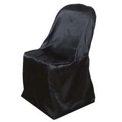 bulk satin chair covers outdoor wooden rocking chairs black folding chaircoverfactory quick view wholesale