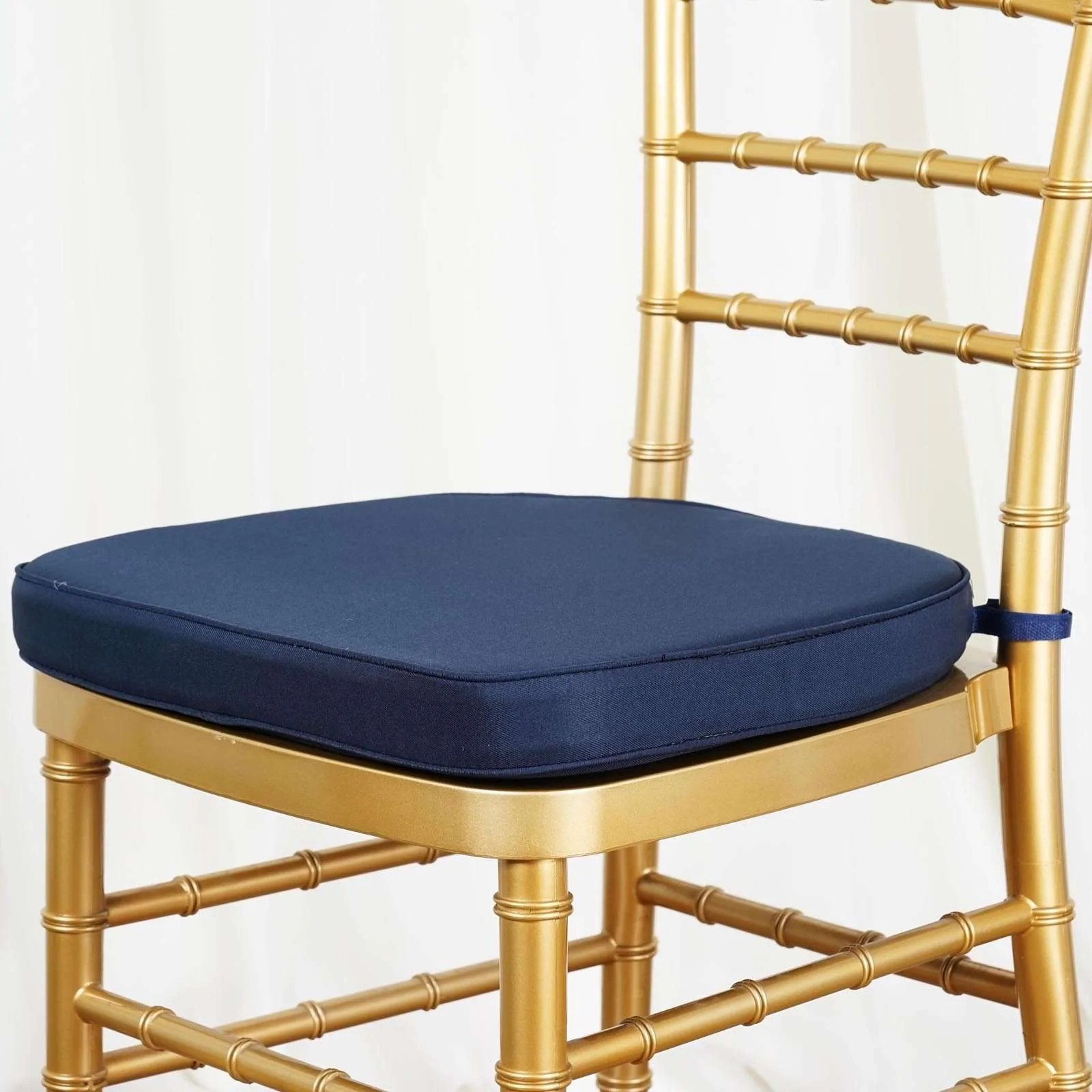 chiavari chairs wholesale knoll tulip chair 2 thick navy blue cushion for beechwood wood resin party event decoration
