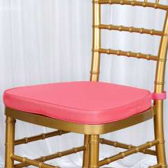 Chiavari Chairs Wholesale 2 Pc Rocking Chair Cushions Thick Coral Cushion For Beechwood Party Wood Resin Event Decoration