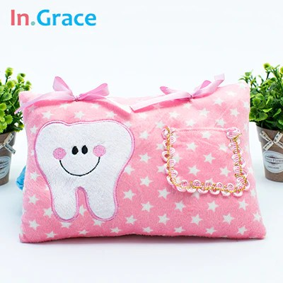 cute soft tooth fairy pillow for boys and girls auntielulus tings n such