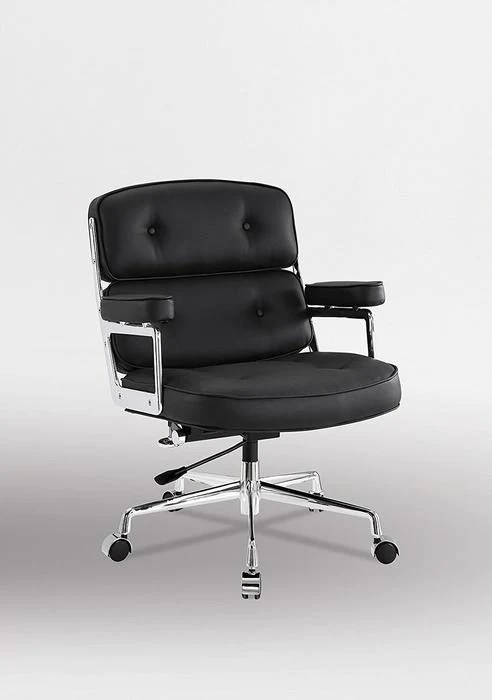eames management chair replica ikea kitchen table and chairs set executive work black nicer furniture