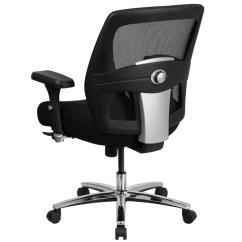 Tall Swivel Chair Decorative Legs 500 Lb Rated 24 7 Intensive Use Big Black Mesh Executive