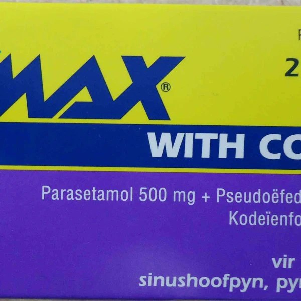 Sinumax With Codeine Tablets 20s Zimseller Pharmacy