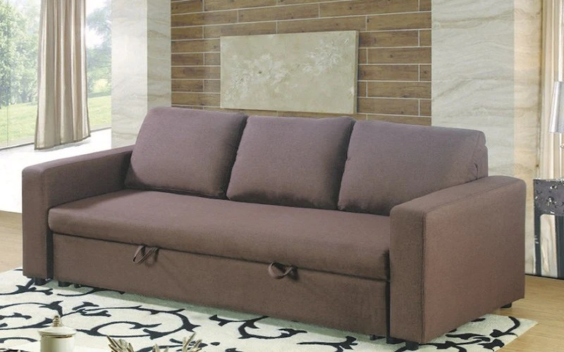 brown fabric sofa timothy oulton bed with arm rest furnberry
