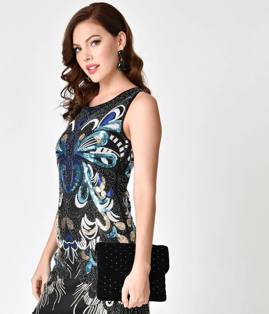 Multicolor Sequin Dresses
