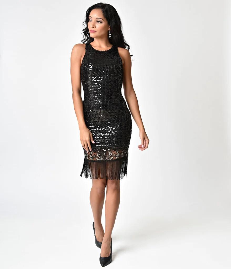 Fringe Flapper Cocktail Dress