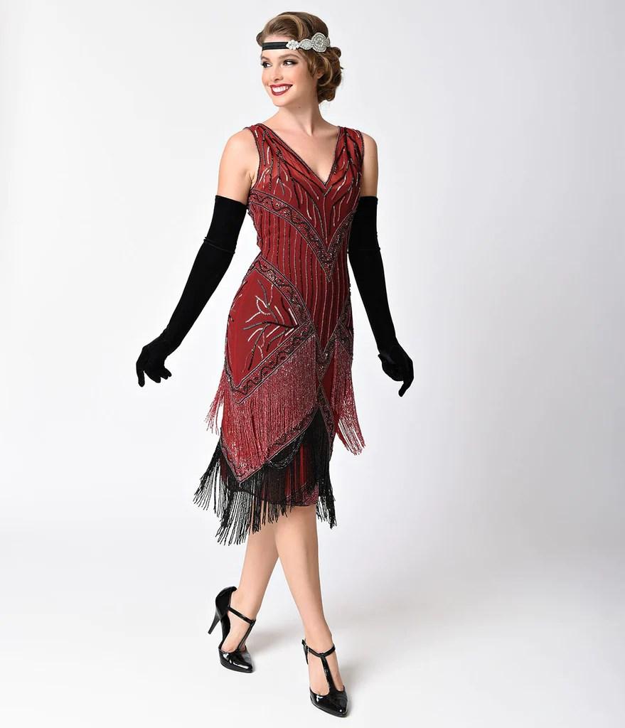 Flapper Dresses 1920s Fashion Women